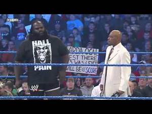 Mark Henry suspended by Teddy Long - 2012 (HQ)