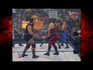 👍 The Rock Kane vs Shane McMahon Big Show Chris Benoit 3 on 1 handicap match 8/3/2000