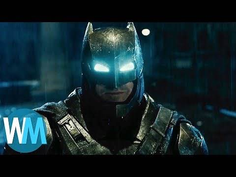 Top 10 Batsuits of All Time