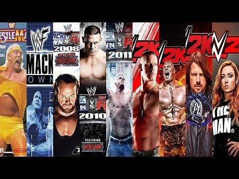 The Evolution of WWE Games (1989-2020)