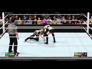WWE 2K16 Superstars Paige vs Aksana
