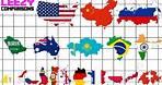 Country SIZE COMPARISON ALL 195 Countrys | LeeZY Comparisons