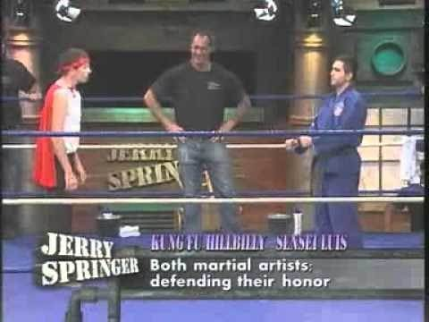 Boxing Blowout: Viewers Vs. Guests (Clip 2) (The Jerry Springer Show) Kung Fu Hillbilly