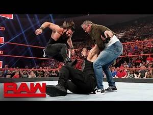 Shane McMahon and Elias interrupt Roman Reigns vs. Drew McIntyre: Raw, May 6, 2019