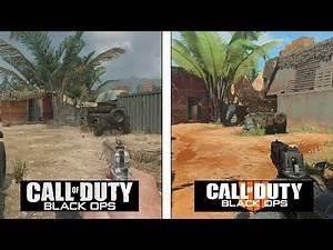 Call of Duty Black OPS 4 | Firing Range Map Evolution | Black OPS 1 vs 4 Comparison