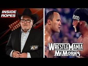JR On Calling The Rock Vs Hulk Hogan At Wrestlemania X8