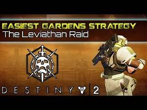 Destiny 2 - EASIEST way to clear Pleasure Gardens, strategy guide & tutorial for Leviathan Raid!