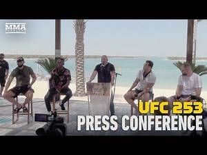 UFC 253 Pre-Fight Press Conference - MMA Fighting