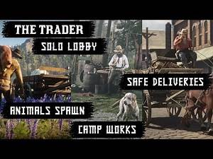 Private Session - Solo Lobby - Fix Animal & Camp Spawns with XP Glitch - RDR2 Red Dead Online