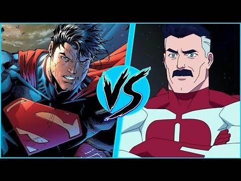 Superman vs Omni-Man   BATTLE ARENA   DC Comics vs Invincible   Justice League