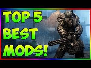 Fallout 4 - TOP 5 BEST MODS! Ep. 26 (PS4, XBOX, PC)