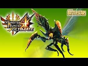 MONSTER HUNTER 4 ULTIMATE - LET'S PLAY - SELTAS vs INSECT GLAIVE