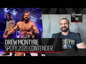 Drew McIntyre on being a front-runner for Sports Personality of the Year and fighting for a UK PPV