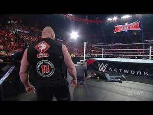 WWE Brock Lesnar vs Dean Ambrose highlights Tribute