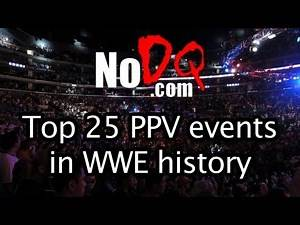 #10 of the top 25 greatest PPV events in WWE history