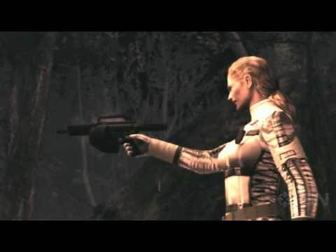 Metal Gear Solid 3 HD - The Boss and Her Horse Cinematic - Gameplay