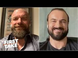 Triple H and Drew McIntyre on the WWE ThunderDome & engaging with fans virtually | First Take