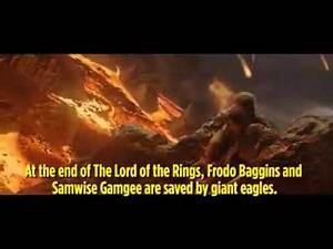 Lord Of the Rings Plot hole Debunked