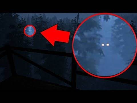 There is A MONSTER hiding in these woods... AND IT'S AFTER ME (WARNING: SCARY) Do You Copy? Game