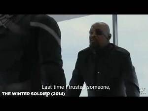 Nick Fury saying how he lost his eye! (Captain America: Winter Soldier)