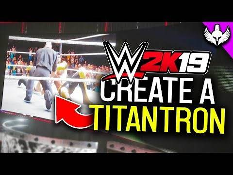 How To Create A Custom Titantron In WWE 2K19