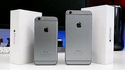 Apple iPhone 6 vs iPhone 6 Plus - Dual Review!