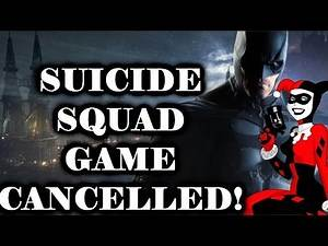 New Batman Game NEW INFO: Suicide Squad Game CANCELLED!