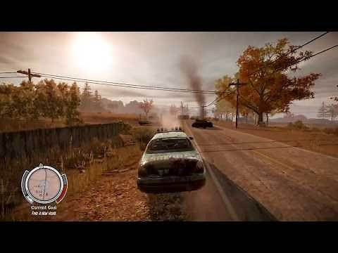 HOW BIG IS THE MAP in State of Decay? Drive Across the Map
