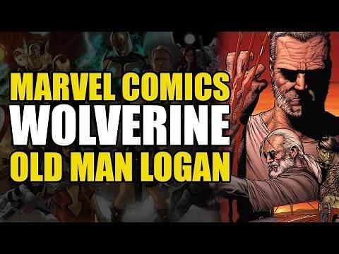 Wolverine/Logan vs All The X-Men (Old Man Logan)