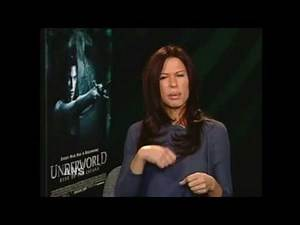 RHONA MITRA ANS INTV UNDERWORLD RISE OF THE LYCANS