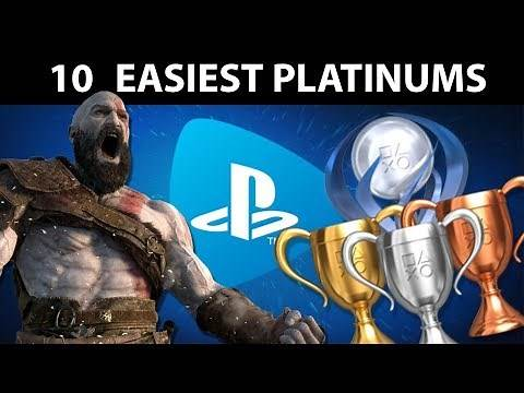 10 EASY Platinum Trophies on PlayStation Now 2019