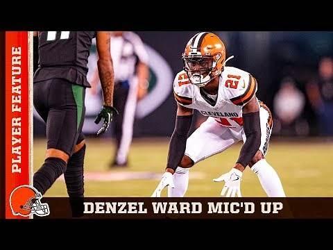 Denzel Ward Mic'd Up in Week 2 vs. Jets | Browns Countdown