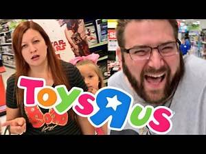 DID I GET AWAY WITH IT? SNEAKY SHOPPING AT TOYSRUS WITH AN OLD FRIEND!