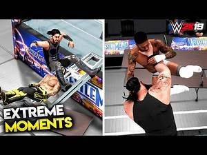 WWE 2K19   Top 50 Extreme Moments - Road to WWE 2K20