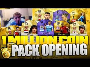 1 MILLION COIN PACK OPENING!