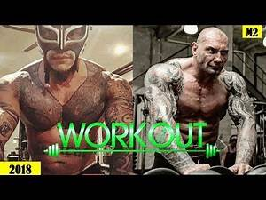 Rey Mysterio Vs Dave Batista Workout Training For Wrestling Return 2018