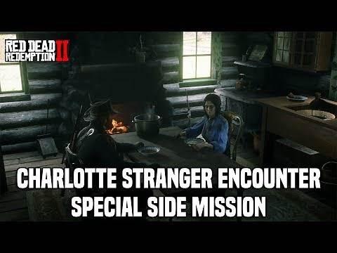 Red Dead Redemption 2 - Charlotte Stranger Side Mission Guide (Special Stranger)