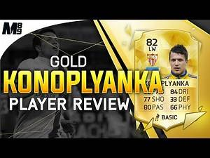 FIFA 16 KONOPLYANKA REVIEW (82) FIFA 16 Ultimate Team Player Review + In Game Stats
