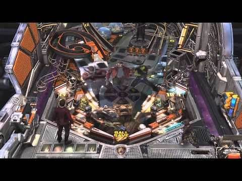 Marvel Pinball: Guardians of the Galaxy Trailer