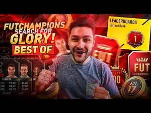 FIFA 17 TOP 100 IN FUT CHAMPIONS !!! ELITE 1 - MY BEST & MOST IMPORTANT GAMES !!!