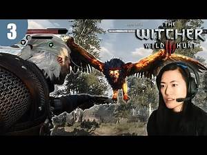 Having roast chicken (Griffin) tonight - The Witcher 3: Wild Hunt - Part 3 PC Lets play Playthrough