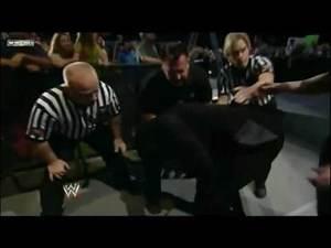 WWE Smackdown 12/9/11 Cody Rhodes Attacks Booker T