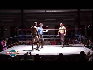 Official NWA World Heavyweight Title Match: Rob Conway vs Kahagas | HD