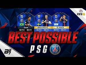 HIGHEST RATED PSG TEAM! w/ TOTS IBRAHIMOVIC AND TOTS DI MARIA! | FIFA 16