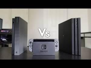 Xbox One X Vs Nintendo Switch Vs PS4 Pro - Review