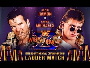 WWE 2K17 - Match Replay: Shawn Michaels VS. Razor Ramon Wrestlemania 10 1994
