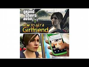 GTA 5 : How To Get A Girlfriend In GTA V (Franklin & Urusula)
