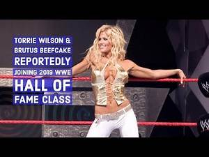 "Torrie Wilson & Brutus ""The Barber"" Beefcake Reportedly Joining 2019 WWE Hall of Fame Class"