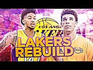 DRAFTING LONZO BALL!! REBUILDING THE LAKERS!! NBA 2K17 MY LEAGUE