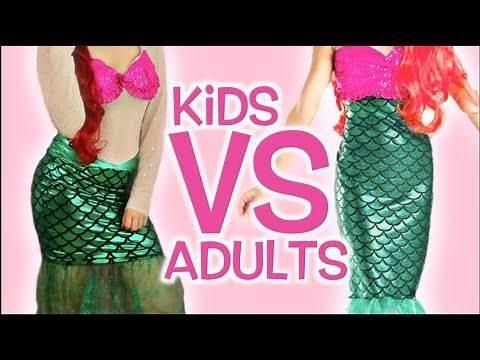 Kids VS Adults Halloween Costumes!
